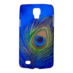 Blue Peacock Feather Galaxy S4 Active