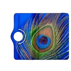 Blue Peacock Feather Kindle Fire HDX 8.9  Flip 360 Case