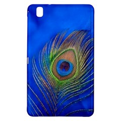 Blue Peacock Feather Samsung Galaxy Tab Pro 8 4 Hardshell Case
