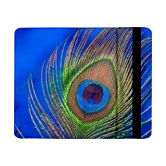 Blue Peacock Feather Samsung Galaxy Tab Pro 8 4  Flip Case