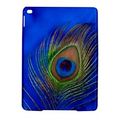 Blue Peacock Feather iPad Air 2 Hardshell Cases