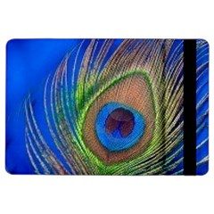Blue Peacock Feather Ipad Air 2 Flip