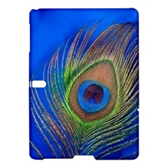Blue Peacock Feather Samsung Galaxy Tab S (10 5 ) Hardshell Case
