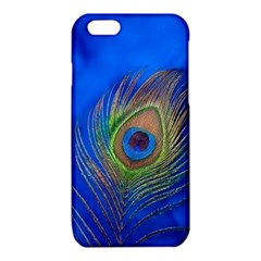 Blue Peacock Feather iPhone 6/6S TPU Case