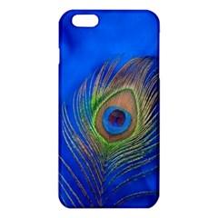 Blue Peacock Feather iPhone 6 Plus/6S Plus TPU Case