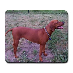Redbone Coonhound Full Large Mousepads