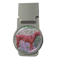 Redbone Coonhound Full Money Clips (Round)