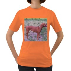 Redbone Coonhound Full Women s Dark T-Shirt