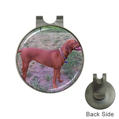 Redbone Coonhound Full Hat Clips with Golf Markers