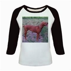 Redbone Coonhound Full Kids Baseball Jerseys