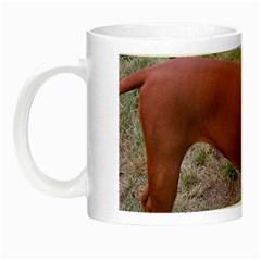 Redbone Coonhound Full Night Luminous Mugs