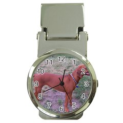 Redbone Coonhound Full Money Clip Watches