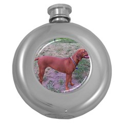 Redbone Coonhound Full Round Hip Flask (5 oz)