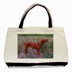 Redbone Coonhound Full Basic Tote Bag (Two Sides)