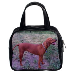 Redbone Coonhound Full Classic Handbags (2 Sides)