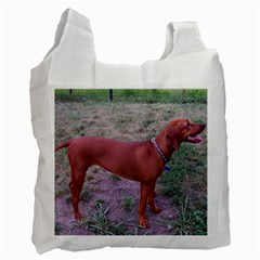 Redbone Coonhound Full Recycle Bag (One Side)