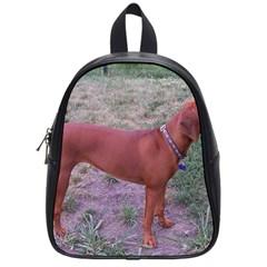 Redbone Coonhound Full School Bags (Small)