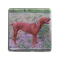 Redbone Coonhound Full Memory Card Reader (Square)