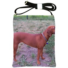 Redbone Coonhound Full Shoulder Sling Bags