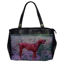 Redbone Coonhound Full Office Handbags