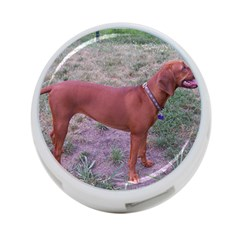Redbone Coonhound Full 4-Port USB Hub (One Side)