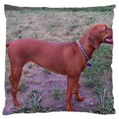 Redbone Coonhound Full Large Cushion Case (One Side)