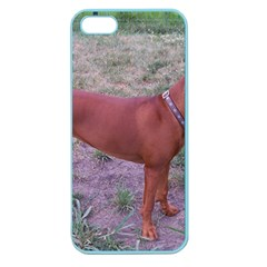 Redbone Coonhound Full Apple Seamless iPhone 5 Case (Color)
