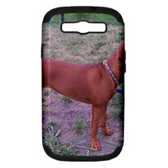 Redbone Coonhound Full Samsung Galaxy S III Hardshell Case (PC+Silicone)