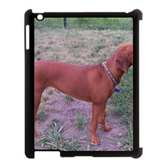 Redbone Coonhound Full Apple iPad 3/4 Case (Black)