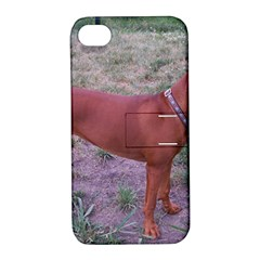 Redbone Coonhound Full Apple iPhone 4/4S Hardshell Case with Stand