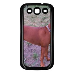 Redbone Coonhound Full Samsung Galaxy S3 Back Case (Black)