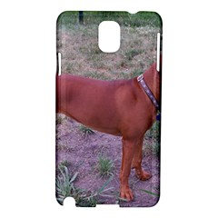 Redbone Coonhound Full Samsung Galaxy Note 3 N9005 Hardshell Case