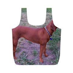 Redbone Coonhound Full Full Print Recycle Bags (M)