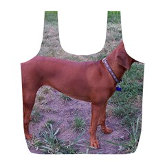 Redbone Coonhound Full Full Print Recycle Bags (L)