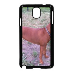 Redbone Coonhound Full Samsung Galaxy Note 3 Neo Hardshell Case (Black)