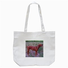 Redbone Coonhound Full Tote Bag (White)