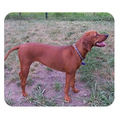 Redbone Coonhound Full Double Sided Flano Blanket (Small)