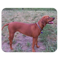 Redbone Coonhound Full Double Sided Flano Blanket (Medium)