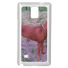 Redbone Coonhound Full Samsung Galaxy Note 4 Case (White)