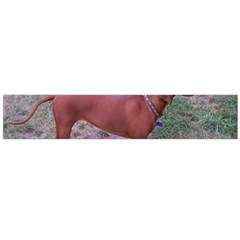 Redbone Coonhound Full Flano Scarf (Large)
