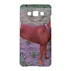 Redbone Coonhound Full Samsung Galaxy A5 Hardshell Case