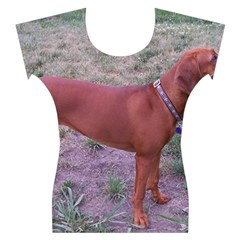 Redbone Coonhound Full Women s Cap Sleeve Top