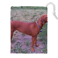 Redbone Coonhound Full Drawstring Pouches (XXL)