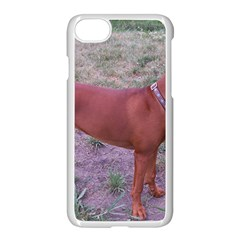 Redbone Coonhound Full Apple iPhone 7 Seamless Case (White)