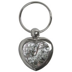 Winter Fall Trees Key Chains (Heart)