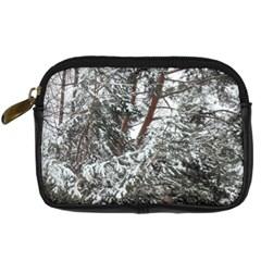 Winter Fall Trees Digital Camera Cases