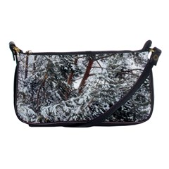 Winter Fall Trees Shoulder Clutch Bags