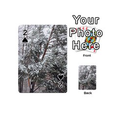 Winter Fall Trees Playing Cards 54 (Mini)