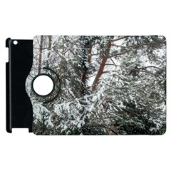 Winter Fall Trees Apple iPad 3/4 Flip 360 Case