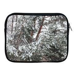 Winter Fall Trees Apple iPad 2/3/4 Zipper Cases